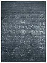 "Nourison Silk Shadows Rug - Abstract Blue Stone, 9'9"" x 13'9"""