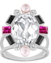 Swarovski Crystal Blanche Ring.