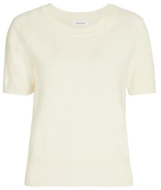 Naadam Cashmere Short-Sleeve Sweater