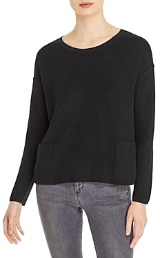 Eileen Fisher Wool Boxy Sweater
