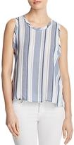 Bella Dahl Striped Button-Back Top