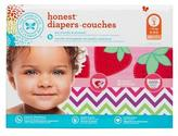 The Honest Company Girl Diapers Club pack, Strawberries + Chevron