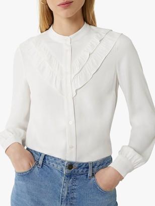 Warehouse Double Ruffle Shirt