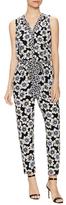 Kate Spade Hollyhock Silk Printed Jumpsuit
