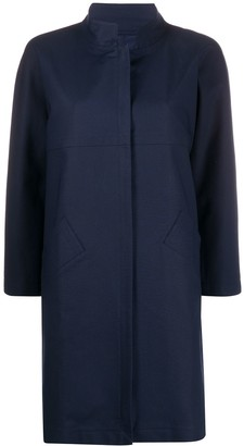 Herno Stand-Collar Mid-Length Coat