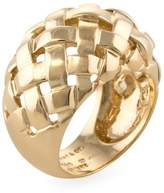 Tiffany & Co. Women's Vintage 18K Yellow Gold Weave Dome Band Ring