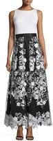 Aidan Mattox Floral Long Dress 54469680