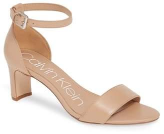 Calvin Klein Carrie Ankle Strap Sandal