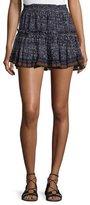 MISA Los Angeles Marion Tiered Mini Skirt