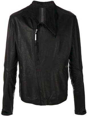 Isaac Sellam Experience asymmetric zip jacket
