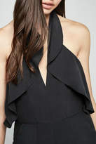 BCBGeneration Black Halter Jumpsuit