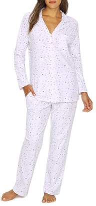 Eileen West Floral Jersey Knit Pajama Set
