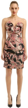 Vivienne Westwood Wilma Jacquard Cocktail Dress