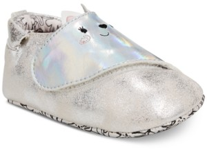 Robeez ro + me by Baby Girls Kitty Soft Sole Shoes