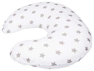 Widgey Maternity and Feeding Travel Pillow, Silver Star