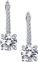 Lafonn Micro Pave Simulate Diamond Round Solitaire Dangle Earring