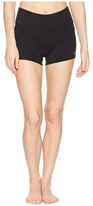 Alo Airbrush Shorts (Black) Women's Shorts