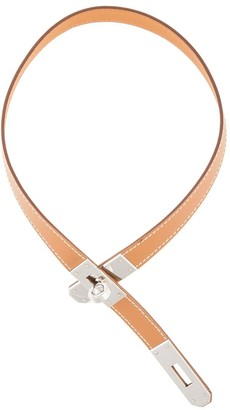 Hermes 2007 pre-owned Kelly pendant necklace