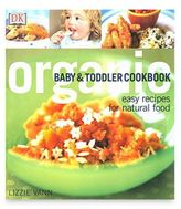 DK Publishing Organic Baby and Toddler Cookbook