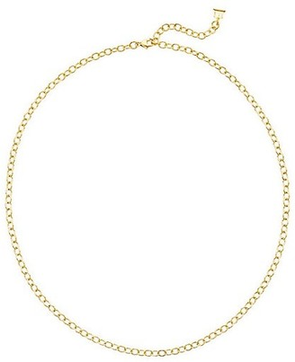 """Temple St. Clair 18K Yellow Gold Extra-Small Oval Link Necklace Chain/18"""""""