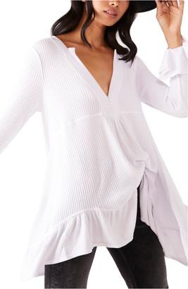 Free People Olivia Ruffle Sleeve Tunic