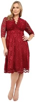 Kiyonna Mademoiselle Lace Dress Women's Dress