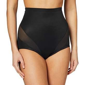 Naomi & Nicole Women's Culotte Gainante Taille Haute Noire-Cooling Waist Shapewear,L