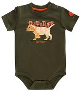 Carhartt Olive 'Ruff & Tuff' Bodysuit - Infant