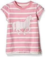 Hatley Girl's Horses & Flowers Graphic T-Shirt