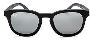 Maui Jim Women's Koko Head Polarized Mirrored Round Sunglasses, 48mm