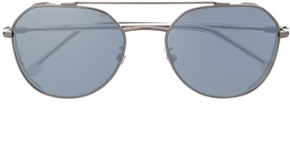 Carrera Tinted Round Frame Sunglasses