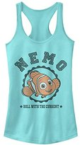 Disney Women's Finding Dory Nemo Roll with Current Racerback Tank Top