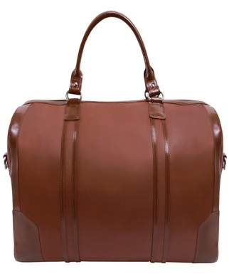 McKlein Usa KINZIE, Carry-all Duffel, Top Grain Cowhide Leather, Brown (88194)