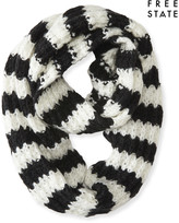 Free State Striped Infinity Scarf