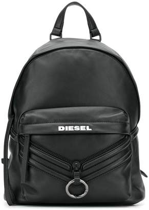 Diesel backpack with patches