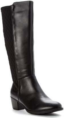 Propet Women's Leather Tall Boots - Talise
