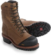 """Chippewa Apache Leather Work Boots - Waterproof, 9"""" (For Men)"""