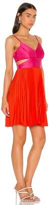 BCBGMAXAZRIA Cut Out Mini Dress