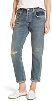 Citizens of Humanity Women's Emerson Ripped Slim Boyfriend Jeans