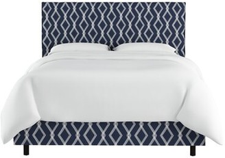 Wrought Studio Edford Slipcover Crossweave Upholstered Standard Bed Size: Twin