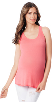 A Pea in the Pod Splendid Racerback Maternity Tank Top