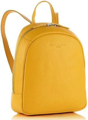Richmond David Hampton Leather Poppy Mini Backpack In Aztec Yellow