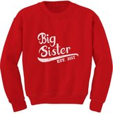 TeeStars - Big Sister Est 2017 - Sibling Gift Idea Toddler/Kids Sweatshirts