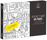 OMY Set of 3 pocket cards - Paris, London, Barcelona and New-York