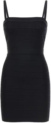 Herve Leger Stretch Jersey Mini Dress