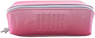 Christian Dior Pink Synthetic Travel bags