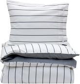 Gant Twill Stripe Double Duvet Cover - Yankee Blue