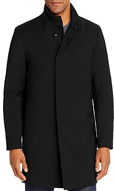 Theory Belvin Tailored Technical Regular Fit Topcoat