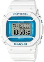 Baby-G Women's Digital White Resin Strap Watch 40x45mm BGD501FS-7