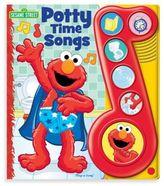 Sesame Street Elmo Potty Time Songs Board Book